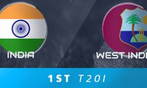 India West Indies, 1st T20, Today
