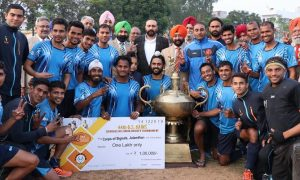 Corps of Signals , Won, Ffinal Match , Jalandhar