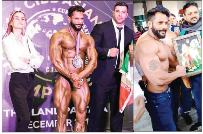 Satinder ,Flags, Asian , Body building
