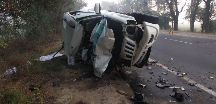 Road Accident, 2 Dead