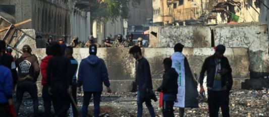 Firing, Baghdad, 16 Killed, 47 Injured