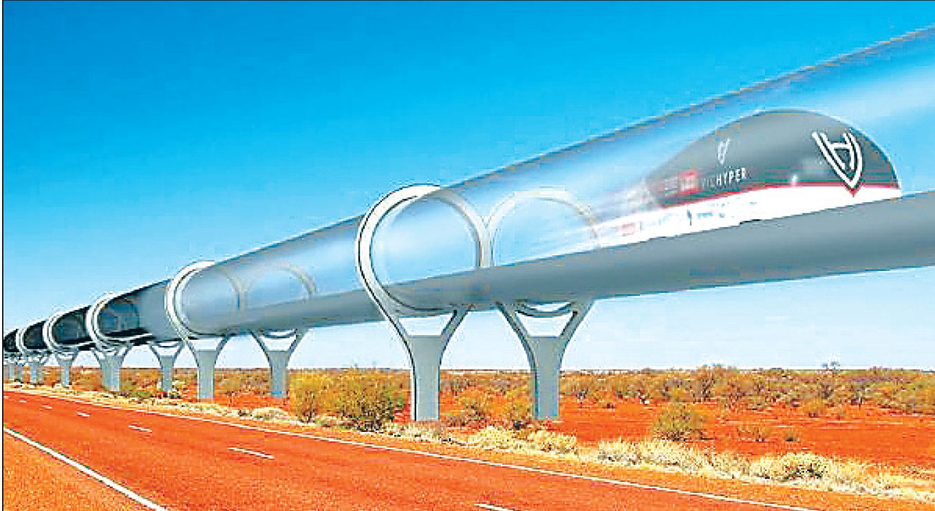 Delhi , Deliver, Hyperloop