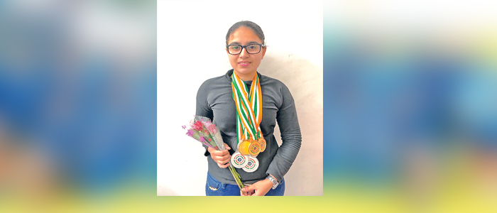 Sandhu, Wins, Gold / Silver, Medals, National Shooting  |