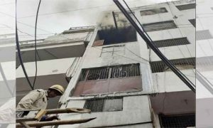 Delhi, Shoe Factory, Fire
