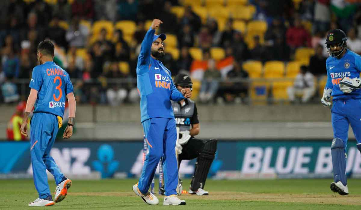 India Vs New Zealand, 4th T20