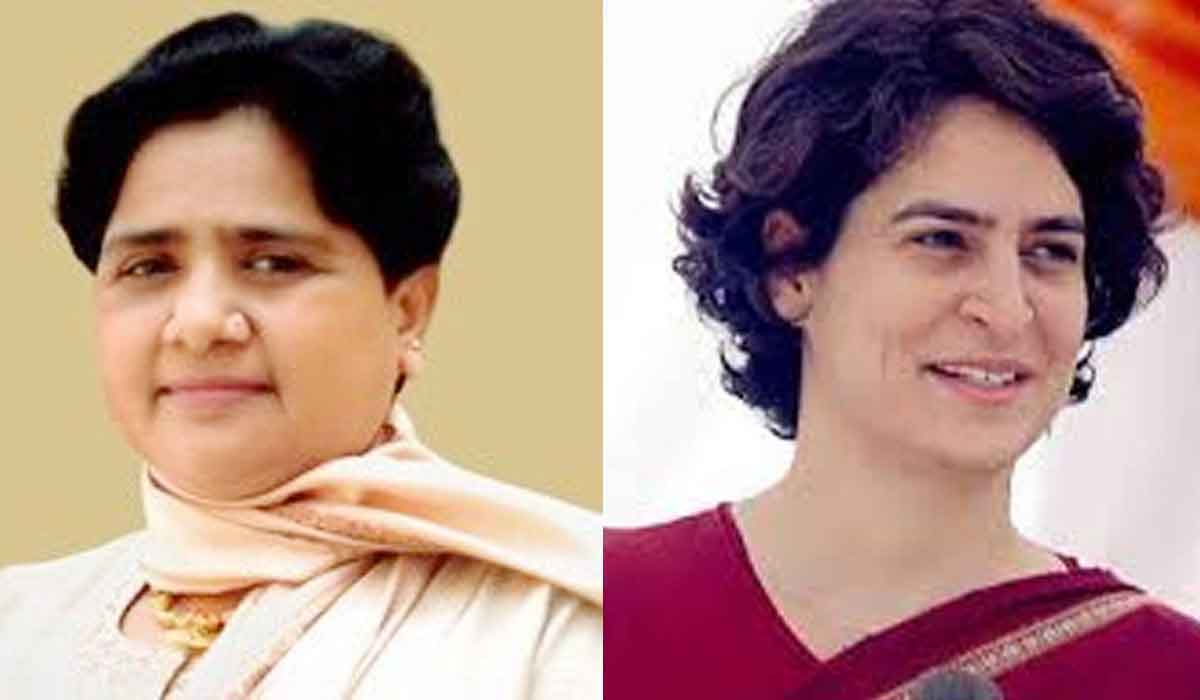 Mayawati, Attacks, Priyanka Gandhi, Tweet