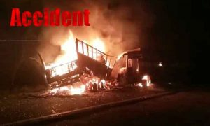 Passengers, Truck and Bus, Accident Kannauj