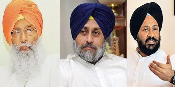 fight of Dhindsa and Badal has begun take on more form
