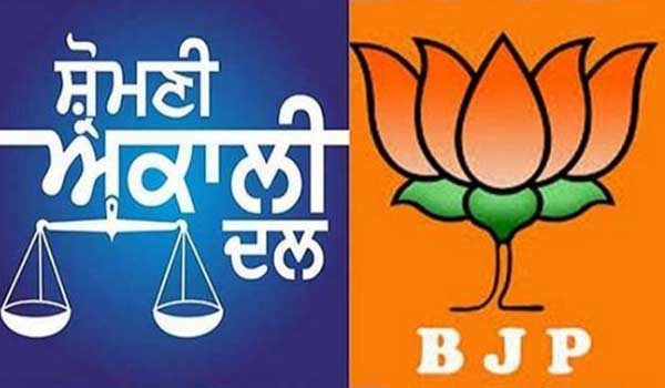 BJP does not give seats to Akali Dal; BJP defeats all four seats