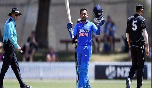 India defeated New Zealand A by five wickets
