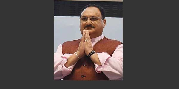 JP nadda BJP's new party president