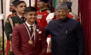 Yash becomes the first motor sports player to win PM's national child award