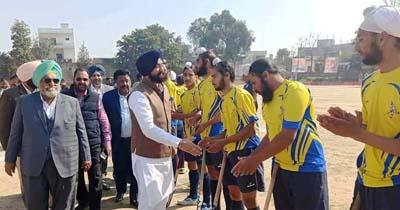 Interesting competition continues on the second day of the All India Hockey Tournament