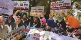 Akali Dal, Protest, Electricity, Issue