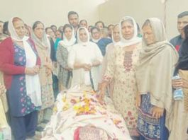 Maya Devi's deceased body donated for medical research