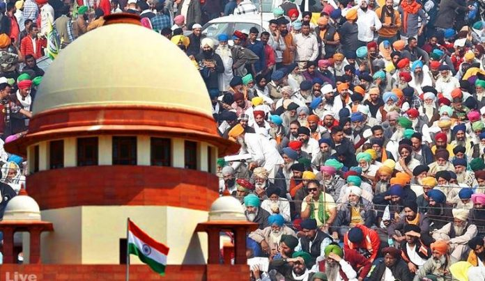 The farmers' dharna will be heard again in the Supreme Court today